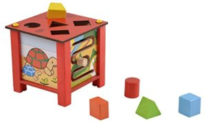 Wooden Multi Activity Box