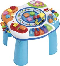letter train piano activity table