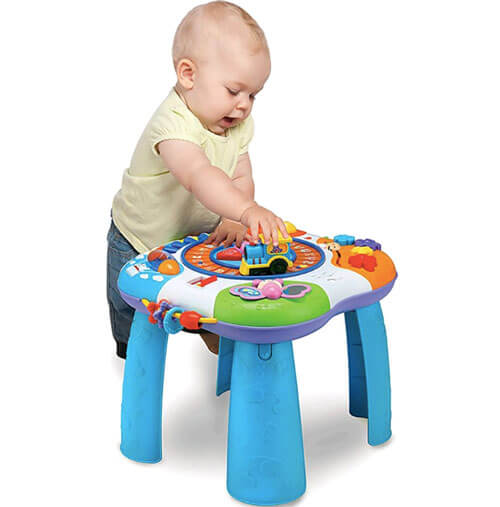 Letter Train and Piano Activity Table 3110