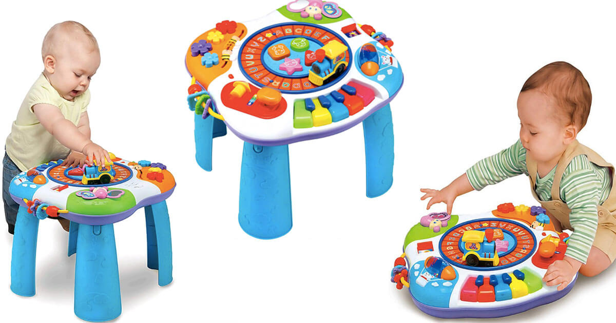 Letter Train and Piano Activity Table 3112