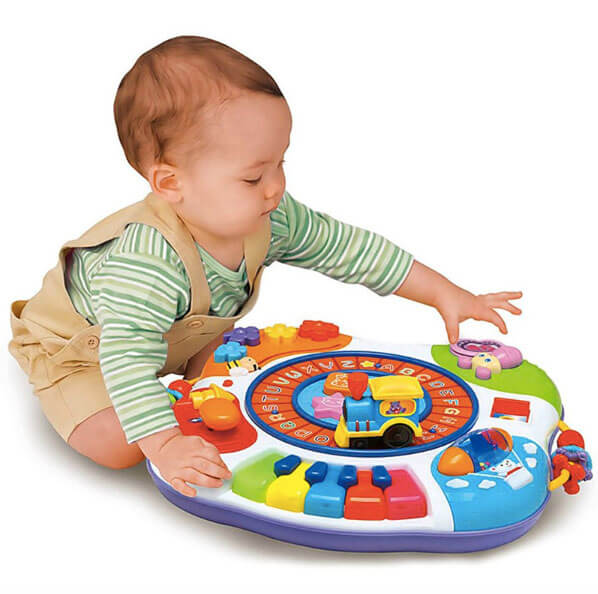Letter Train and Piano Activity Table 3111