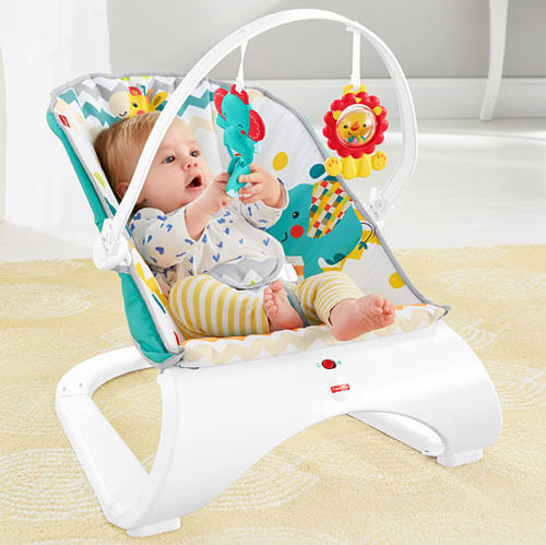 Colourful Comfort Curve Bouncer