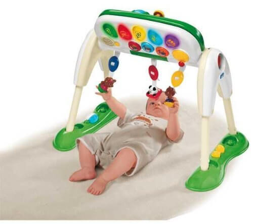 deluxe infant toddler gym