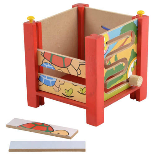 Wooden Multi Activity Box 3071