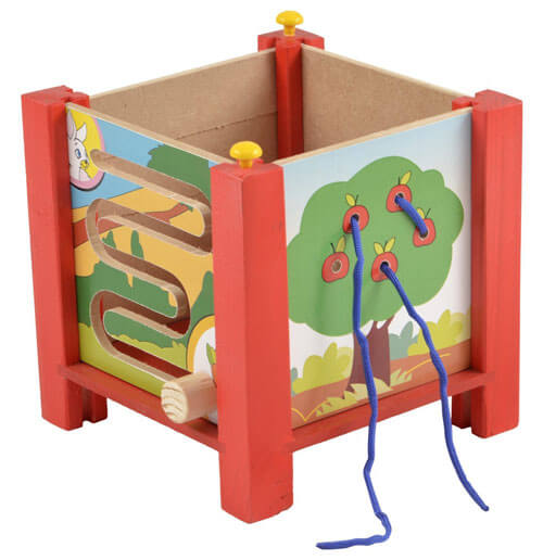 Wooden Multi Activity Box 3072