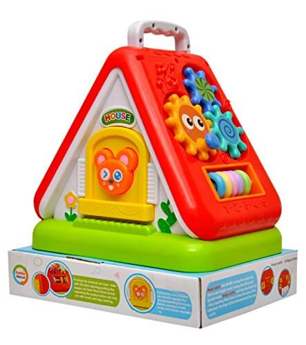 Multipurpose Educational Toy House 3152