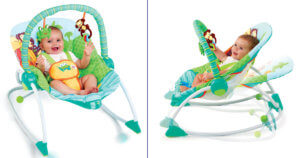 Peek -A-Zoo Baby Rocker 3191