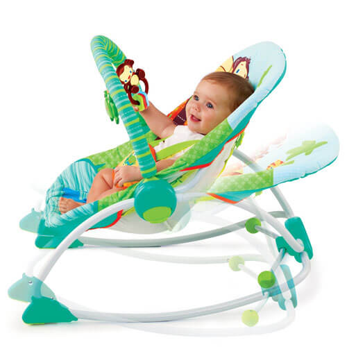 Peek -A-Zoo Baby Rocker 3189