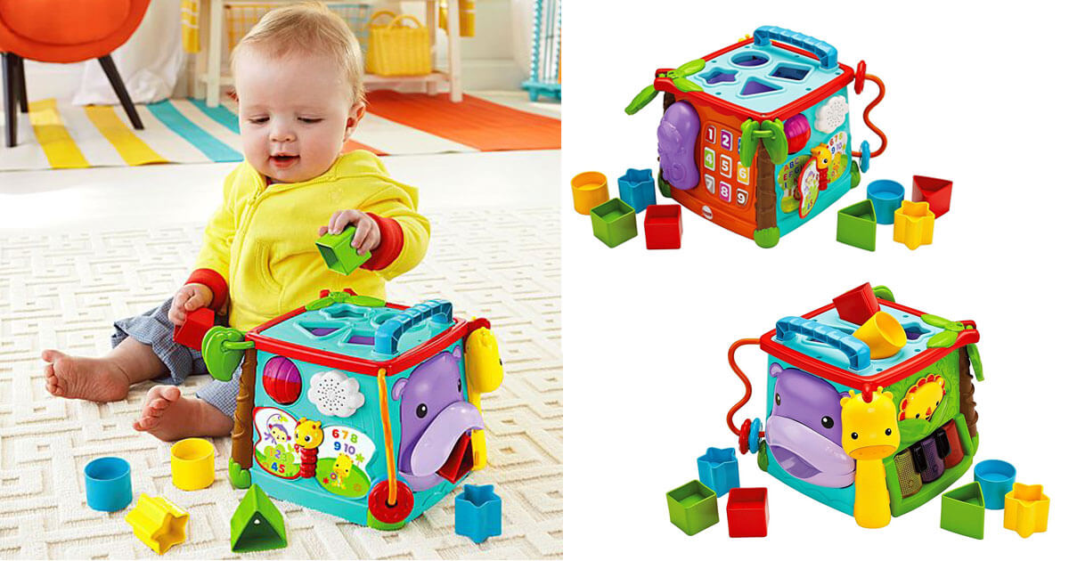 Multi Colour Busy Box 3272
