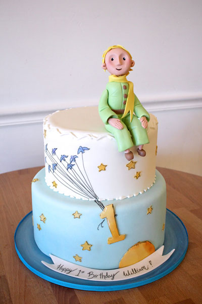 Phenomenal The Little Prince Cake I Want That Momma Funny Birthday Cards Online Aeocydamsfinfo